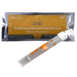 Multi Drug Surface Residue Ampoule Pen Test – MD1 (8 Drugs)