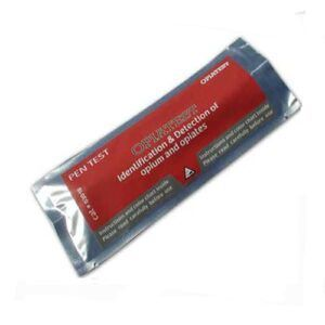 Surface Residue Ampoule Pen Drug Test for Opium, Morphine & Codeine