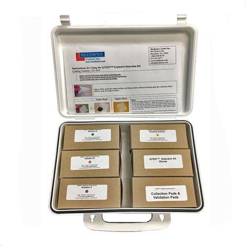 QTEST Explosives Detection Identification Kit – Pump Spray (100 tests)