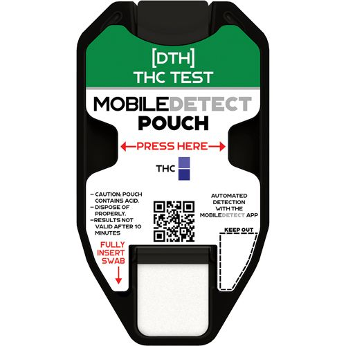 Cannabis-Marijuana Surface Residue/Vape Oil (Pouch) Drug Test